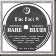 Rare Blues Blue Boot #1