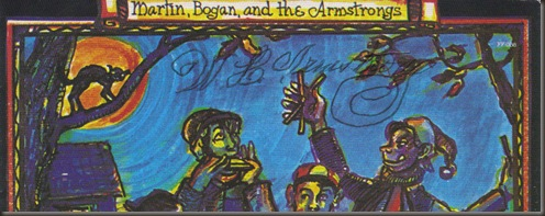 Martin Bogan Armstrong, autograph, close-up/bb