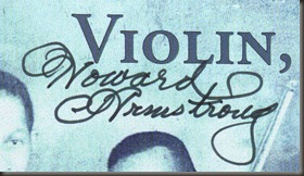 Violin sing... autograph, close-up/bb
