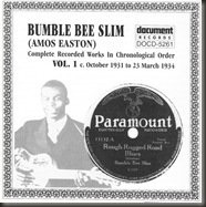 Bumble Bee Slim Complete Recorded Works, Volume 1/bb
