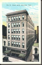 Knoxville's St. James Hotel/bb