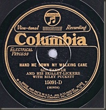 Among my first 78s/bb