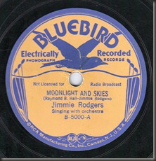 My first 78... Jimmie Rodgers/bb