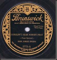 Hallelujah Dixie Jubilee Singers 78/bb