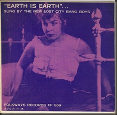 Earth To Earth front cover/bb